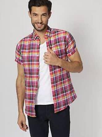 Springfield Camisa con Tejido de Cuadros<br>Custom Fit<br>Multicolor
