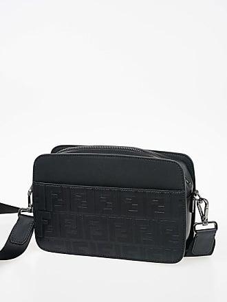 Fendi Monogram Leather Shoulder Bag size Unica