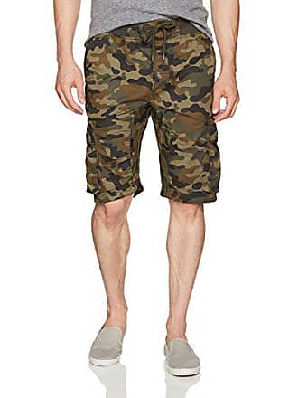 12e31dcdb0 Southpole Mens Jogger Shorts With Cargo Pockets In Solid and Camo Colors,  Army Green,