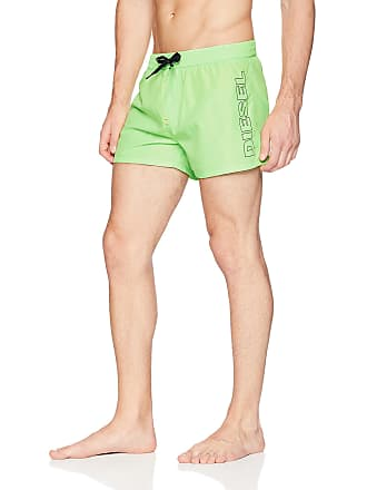 3a5201aba2 Diesel Mens BMBX-Sandy 2.017 Swim Boxer Short Trunks, Green, XX-Large