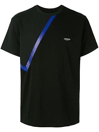 Yoshiokubo solid bandana T-shirt - Black