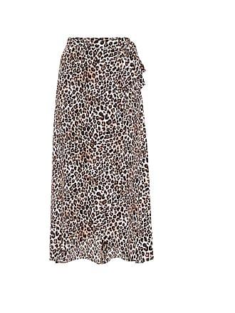 Velvet Isadora challis midi wrap skirt