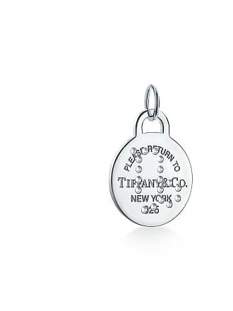 c5acb6ebd Tiffany & Co. Return to Tiffany Zodiac Capricorn round tag charm in  sterling silver,