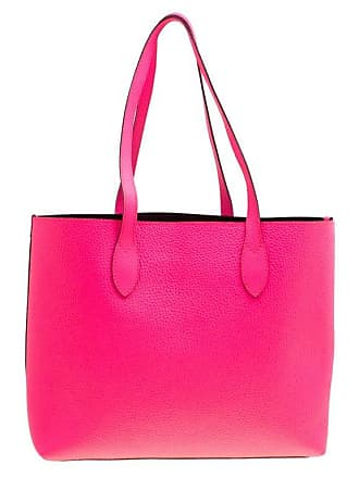 Burberry Neon Pink Leather Remington Shopper Tote 2516fe5a6f104