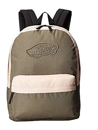 57e4feed776 Vans Realm Backpack (Dusty Olive/Rose Cloud) Backpack Bags