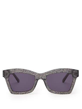 0c624b6625 Karen Walker Eyewear Lunettes de soleil carrées Blessed Galaxy Glitter