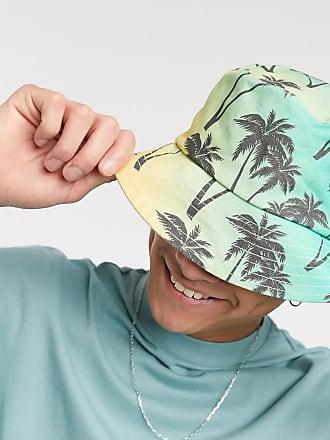 SVNX Cappello da pescatore con stampa tropicale-Multicolore