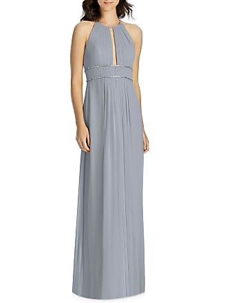 b6cc810ee8d Jenny Packham Lux Chiffon Halter Bridesmaid Gown with Beaded Trim