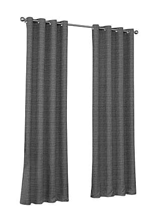 Eclipse Trevi Blackout Grommet Curtain Chocolate - 16404052063CHC