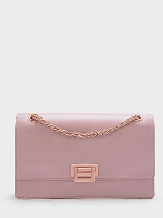 Charles & Keith Push-Lock Shoulder Bag