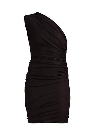 92254b80 Alexandre Vauthier One Shoulder Ruched Mini Dress - Womens - Black