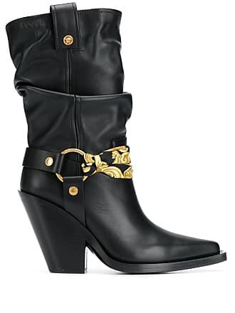 192fa606d57dd Versace Stivali con dettaglio a bandana - Di Colore Nero