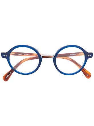 Kaleos Armação de óculos redonda - Azul