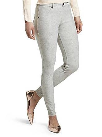 Hue Womens Essential Denim Leggings, bleached black wash, L