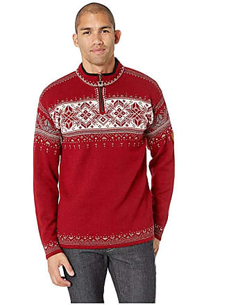 Dale of Norway Blyfjell (B-Red Rose/Off-White/Mountainstone/Smoke) Mens Sweater