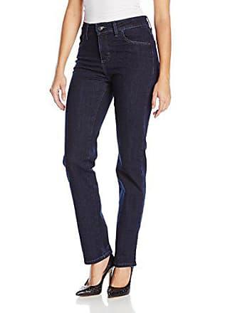 Lee Womens Missy Classic Fit Monroe Straight-Leg Jean, Horizon, 16 Long