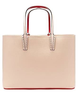 9437e0f2cf93 Christian Louboutin Cabata Grained Leather Tote - Womens - Light Pink