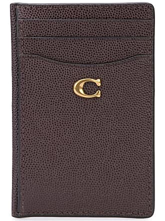 Coach grained cardholder - Brown