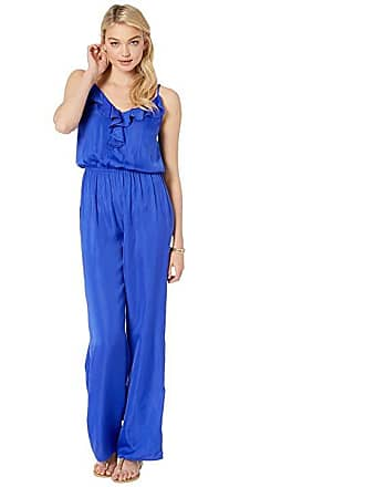 a25f2a59e6a3 Lilly Pulitzer Tinley Jumpsuit (Royal Purple) Womens Jumpsuit   Rompers One  Piece