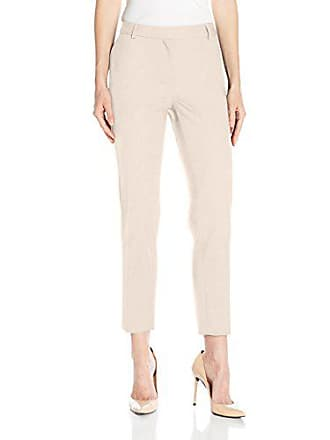 Jones New York Womens Washable Suiting Grace Ankle Pant, Stone, 14