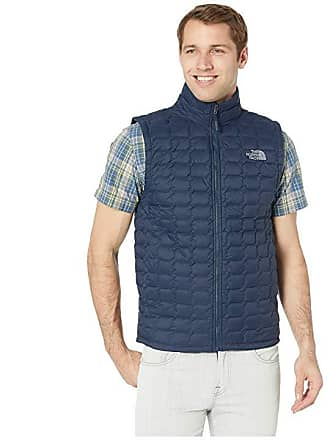 6c1582a5a918 The North Face Thermoball Vest (Urban Navy Matte Mid Grey) Mens Vest