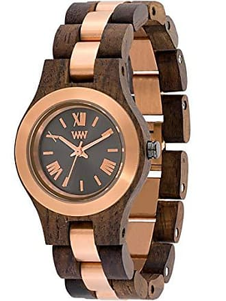 WeWood Relógio Wewood - Criss Me Choco Rough Gold - Criss Limited Edition - WWCR11