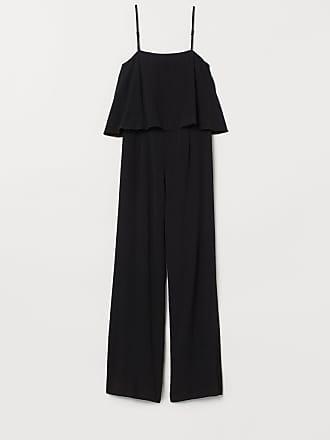 H&M Crêped Jumpsuit - Black