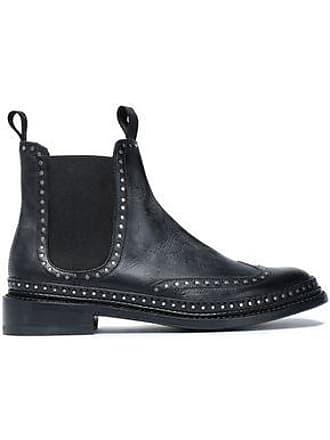 fdf1de4e3bf Rag & Bone Rag & Bone Woman Studded Leather Ankle Boots Black ...