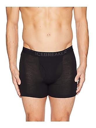 7072f7d24b Icebreaker 175 Everyday Merino Base Layer Boxers (Black/Monsoon) Mens  Underwear