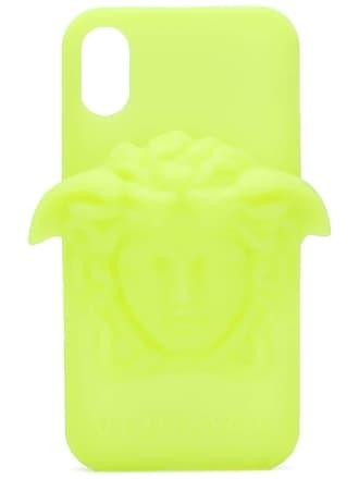 Versace Capa para iPhone X - Amarelo