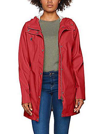 5b2d54df578e59 Ilse Jacobsen leichter Damen Mantel | Regenjacke mit Kapuze und  verstellbaren Ärmeln | Polyester mit Gummi