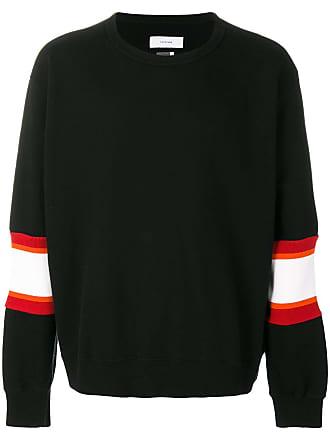Facetasm striped panel sweatshirt - Preto