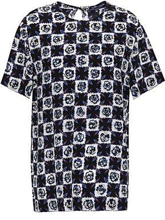 Emilio Pucci Emilio Pucci Woman Checked Silk Top Black Size 38