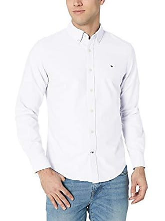 ea24d84b4 Tommy Hilfiger Mens Classic Oxford Button Down Shirt, Bright White 3X-Large