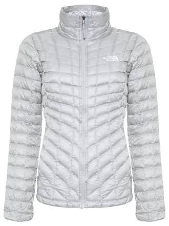 The North Face JAQUETA FEMININA W THERMOBALL FULL ZIP - CINZA