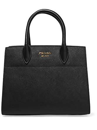 Prada Driade Textured-leather Tote - Black