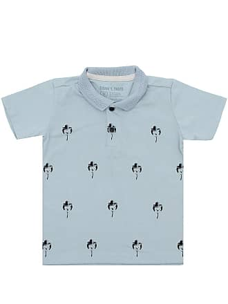 Tigor T. Tigre Camisa Polo Tigor T. Tigre Curto Bebê Menino Azul