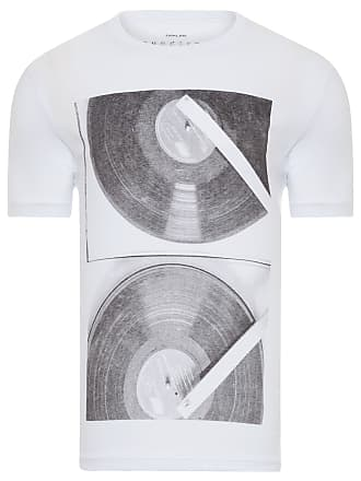 Osklen T-SHIRT MASCULINA SOUNDTRACK LP - OFF WHITE