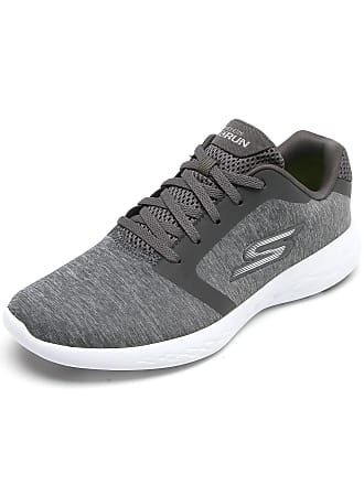 Skechers Tênis Skechers Go Run Cinza