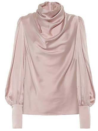 Zimmermann Cowl stretch silk blouse