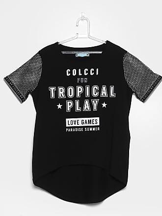8850762b1 Colcci Fun Camiseta Infantil Colcci Manga Curta em Tela Feminina - Feminino