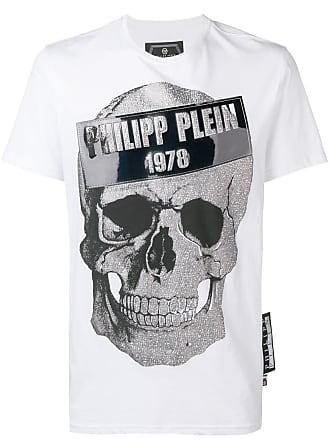 Philipp Plein skull motif T-shirt - White