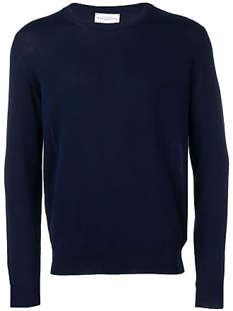 Ballantyne Suétet de tricô decote careca - Azul