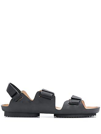Issey Miyake touch-strap sandals - Black