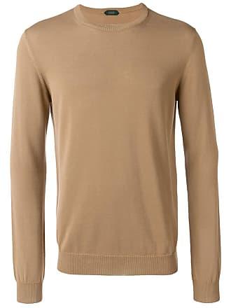 Zanone fine knit sweater - Neutrals