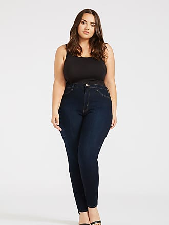 Alloy Apparel Plus Size Skinny Jeans for Tall Women Legging Dark Rinse 2XL/32 - Rayon