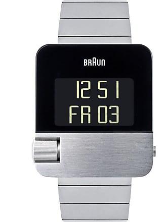 Braun BN0106 Steel Prestige Digital Mens Watch   Steel