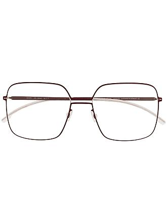 Mykita Velma square frame glasses - Vermelho