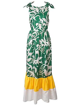 Borgo De Nor Vestido com amarração - Verde
