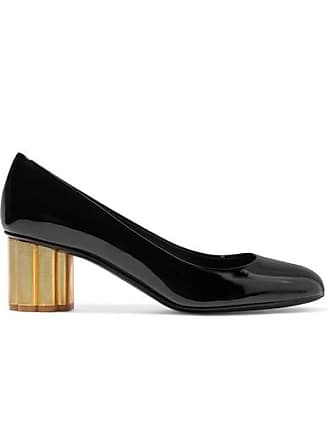 Salvatore Ferragamo Lucca Patent-leather Pumps - Black